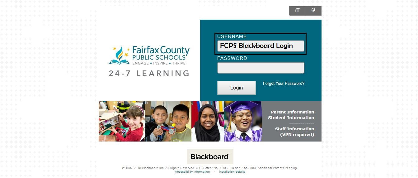 FCPS Blackboard Login