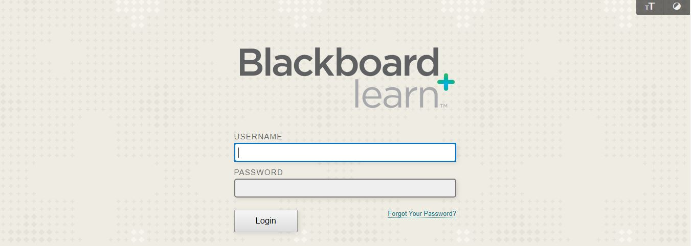 Blackboard FMU Login