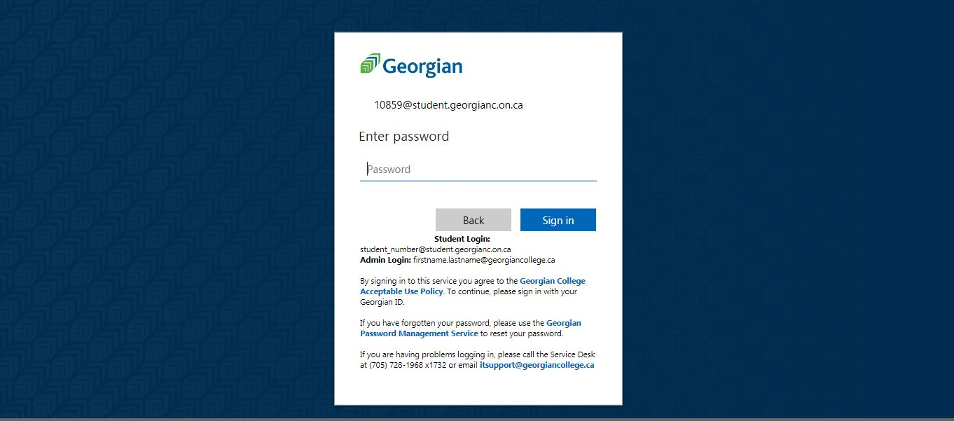 GC Blackboard Login