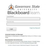 GSU Blackboard Login- Governors State Blackboard