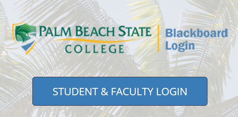 Palm Beach State Collage Blackboard Login