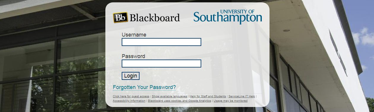 Soton Blackboard Login