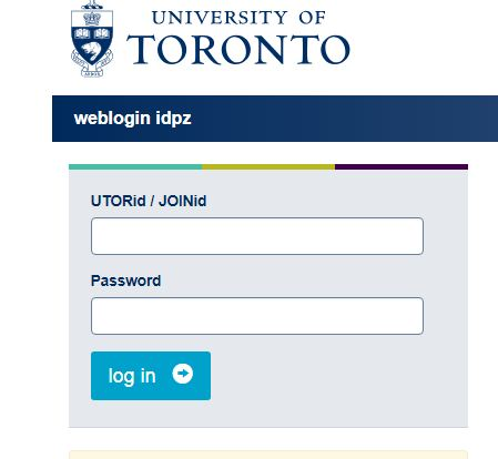 uoft blackboard login