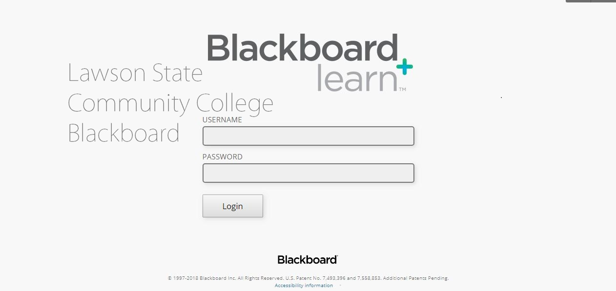 Lawson State Community College Blackboard