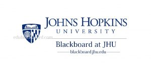 JHU blackboard Login