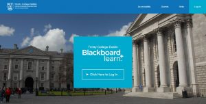 TCD Blackboard Login